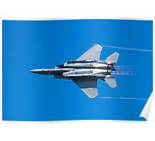 SJ AF 87 0179 F-15E Strike Eagle Right Bank Poster