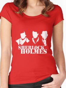 Sherlock Trio Women's Fitted Scoop T-Shirt