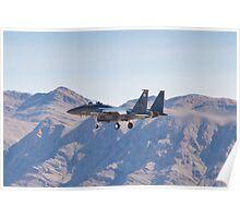 WA AF 90-0260 F-15E Strike Eagle Poster