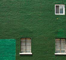 Green Wall in Pittsburgh by Dan Lauf