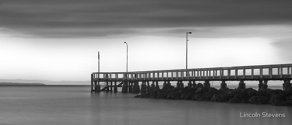 Wellington Point Pier by Lincoln Stevens