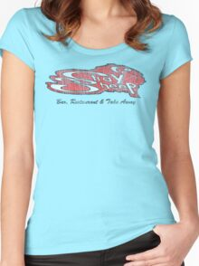 stray sheep Women's Fitted Scoop T-Shirt