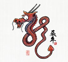 ?? Year of the Dragon (red) by 73553
