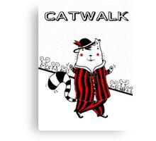 Catmania 10 Canvas Print