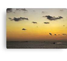 Galveston Canvas Print