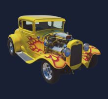 1930 Model A Custom Hot Rod Kids Tee