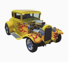1930 Model A Custom Hot Rod One Piece - Short Sleeve