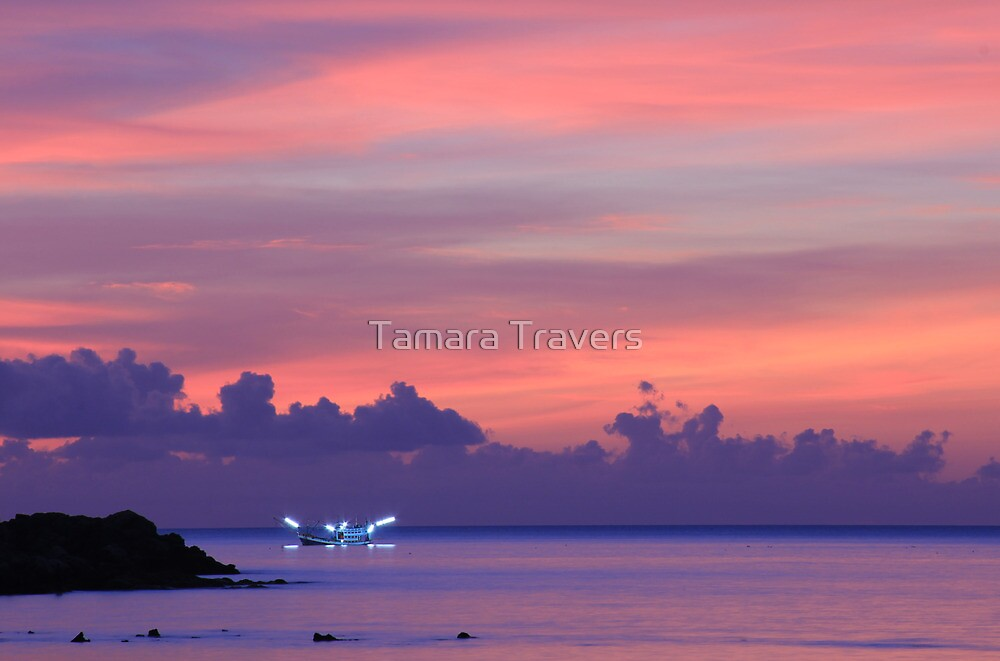 Koh Phangan sunset by Tamara Travers