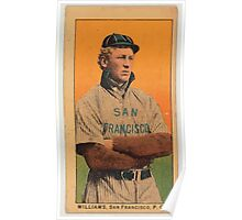 Benjamin K Edwards Collection Williams San Francisco Team baseball card portrait Poster
