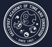Gallifrey Academy of Time and Dimension Kids Clothes