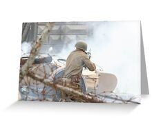 Battle incident Greeting Card