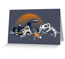 88 Million Years Ago... Greeting Card