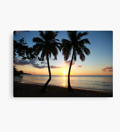 East Winds Sunset Canvas Print