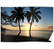 East Winds Sunset Poster