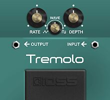 Boss Tremolo Pedal by Alisdair Binning