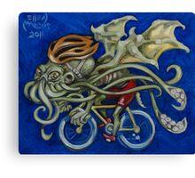 Cthulhu Roadie Canvas Print