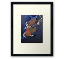 Artnap V: Noir Framed Print
