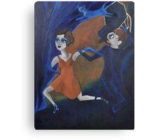 Artnap V: Noir Canvas Print