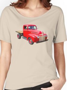 1947 Ford Flat Bed Antique Pickup Truck Women's Relaxed Fit T-Shirt