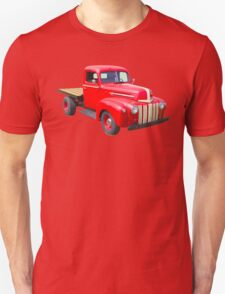 1947 Ford Flat Bed Antique Pickup Truck Unisex T-Shirt