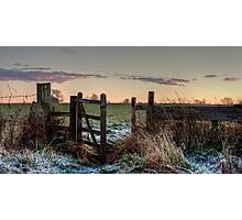 The Gate ... Photographic Print