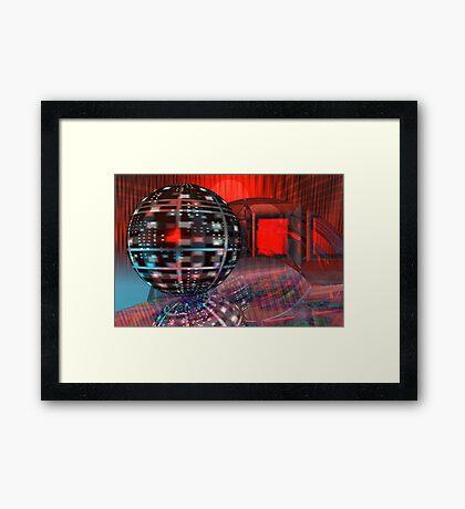 Geometrical Philosophy Framed Print