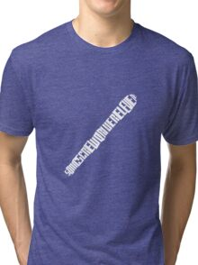 Sonic Textdriver Tri-blend T-Shirt