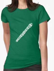Sonic Textdriver Womens Fitted T-Shirt