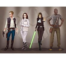 A Galaxy Far Away - Agents Combined Photographic Print