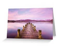 Winter at Windermere. Greeting Card