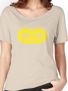 Crazy 88 Large Mask (yellow) Women's Relaxed Fit T-Shirt