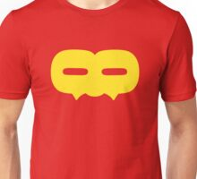 Crazy 88 Large Mask (yellow) Unisex T-Shirt