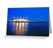 London Millennium Dome Greeting Card