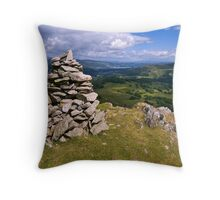 View from Lingmoor Fell - The Lake District Throw Pillow