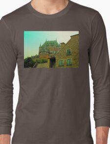 Le Chateau Frontenac Long Sleeve T-Shirt