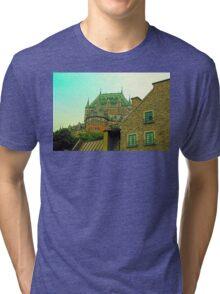 Le Chateau Frontenac Tri-blend T-Shirt