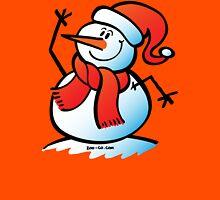 Snowman Waving T-Shirt