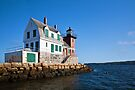 Rockland Breakwater Lighthouse by PhotosByHealy