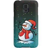 Snowman Waving Samsung Galaxy Case/Skin
