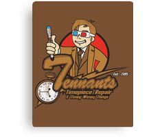Tennants Timepieces Poster Canvas Print