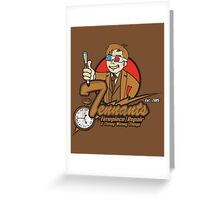 Tennants Timepieces Poster Greeting Card
