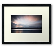 Coniston and the Old Man. Framed Print
