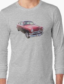 1950 Ford Custom Deluxe Classsic Car Long Sleeve T-Shirt