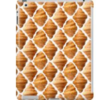 Background pattern made of croissants iPad Case/Skin