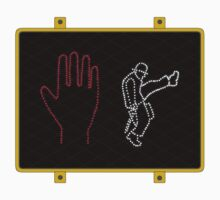Silly Walk Sign Kids Clothes