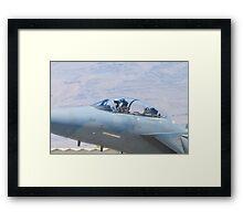 Close Up of F-15S Eagle,  9212 Framed Print