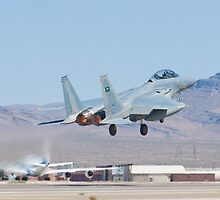 #9212 F-15S Eagle Taking Off by Henry Plumley