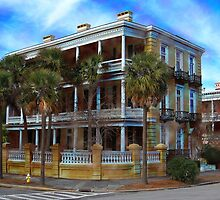 Charleston Mansion by Kathy Baccari
