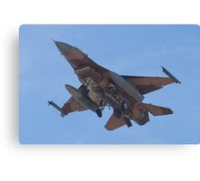 Belly shot of an F-16C Fighting Falcon Canvas Print