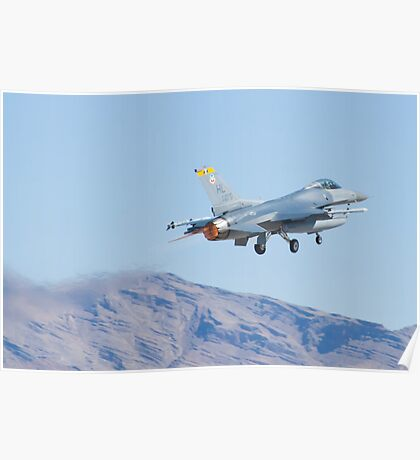 F-16C Fighting Falcon HL AF 89 075 Taking Off Poster